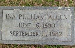 Ina <i>Pulliam</i> Allen