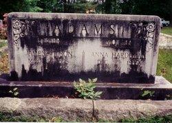 Anna <i>Hardeman</i> Adams