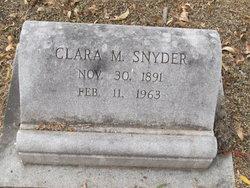 Clara Marie <i>Ebeling</i> Snyder