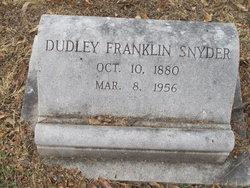 Dudley Franklin Snyder