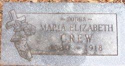 Maria Elizabeth Crew