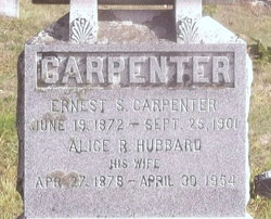 Alice R <i>Hubbard</i> Carpenter