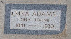 Nina Oha-Tohnll Adams