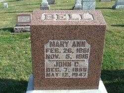 Mary Ann <i>Kunse</i> Bell
