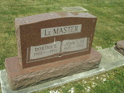 Dortha LeEtta Dorothy <i>Delauter</i> LeMaster