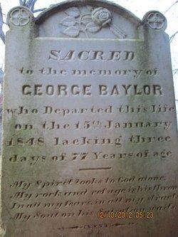George Baylor, Sr