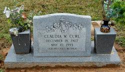 Claudia W Curl
