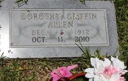 Dorothy Elizabeth <i>Griffin</i> Allen