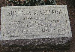Augusta <i>Kreindler</i> Axelrod
