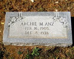 Archie Mikel Anz, Sr