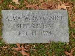 Alma Martha <i>Woodson</i> deVlaming