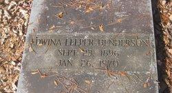 Edwina <i>Leeper</i> Henderson