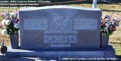 Willie Frances <i>Roberts</i> Grubbs