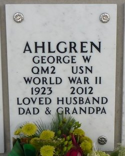 George Walfrid Ahlgren