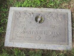 Lula Ernestine Ernie <i>Wright</i> Duax