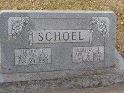 Bertha H. <i>Zlomke</i> Schoel