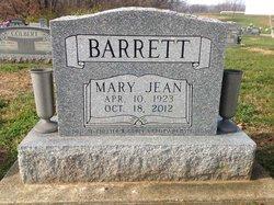 Mary Jean <i>Armstrong</i> Barrett