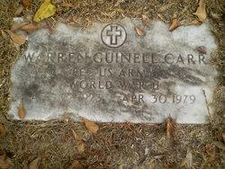 Warren Guinell Carr