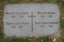 Dona <i>Adams</i> Rothwell