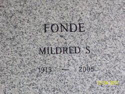 Mildred S. Fonde
