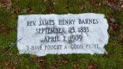 Rev James Henry Barnes