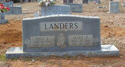 Mary <i>Finley</i> Landers