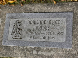 Adrienne Alice Mayes