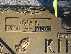 Rosa Rebecca <i>Rucker</i> King