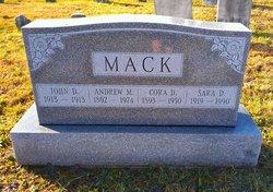 Cora <i>Detwiler</i> Mack