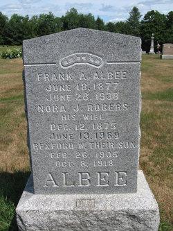 Rexford W Albee