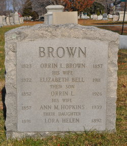Ann Maria <i>Hopkins</i> Brown