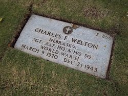 Sgt Charles F Welton