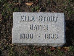 Ella Elizabeth <i>Stout</i> Bates