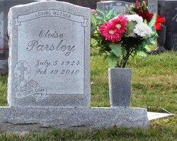 Eloise <i>Maynard</i> Parsley