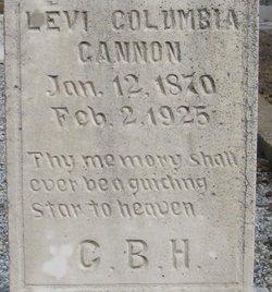 Levi Columbia Lee Cannon