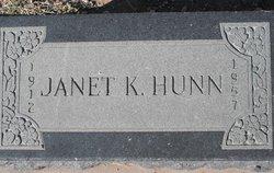 Janet <i>King</i> Hunn