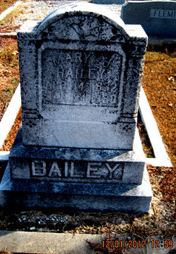 Mary Jane <i>Byrum</i> Bailey