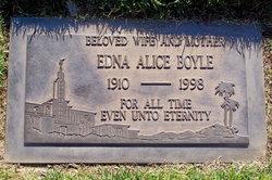 Edna Alice <i>Higley</i> Boyle