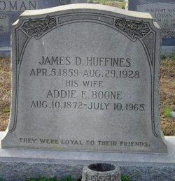 Addie E. <i>Boone</i> Huffines