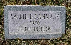 Sarah B Sallie <i>McMullin</i> Cammack