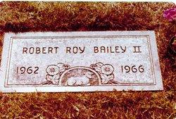 Robert Roy Bobby Bailey, II