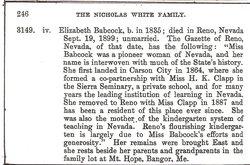Elizabeth C Babcock