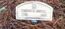 Blonza B Boykin