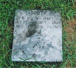 Mary Ann <i>Mayfield</i> Routh