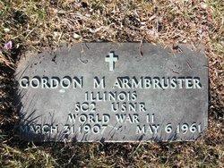 Gordon M. Armbruster