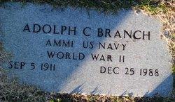 Adolph C Branch