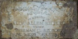 Alda Pernecy <i>Allen</i> Rideout