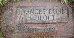 Frances Roberta <i>Dunn</i> Rideout