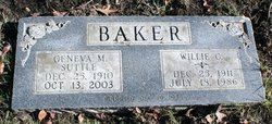 Willie Clarence Baker