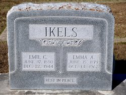 Emma A <i>Lenz</i> Ikels